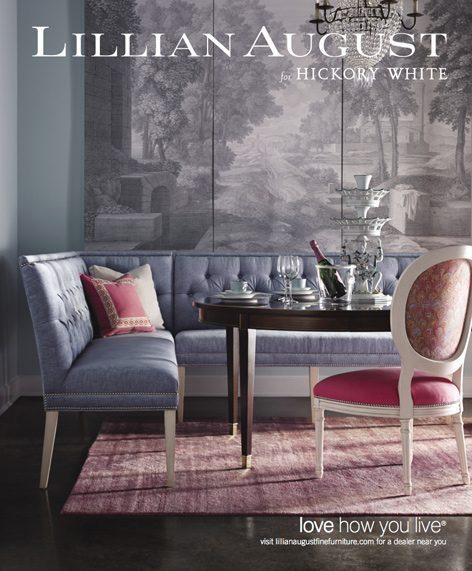 Luxe, Spring 2014. Traditional Home, May 2015. Veranda, April 2015