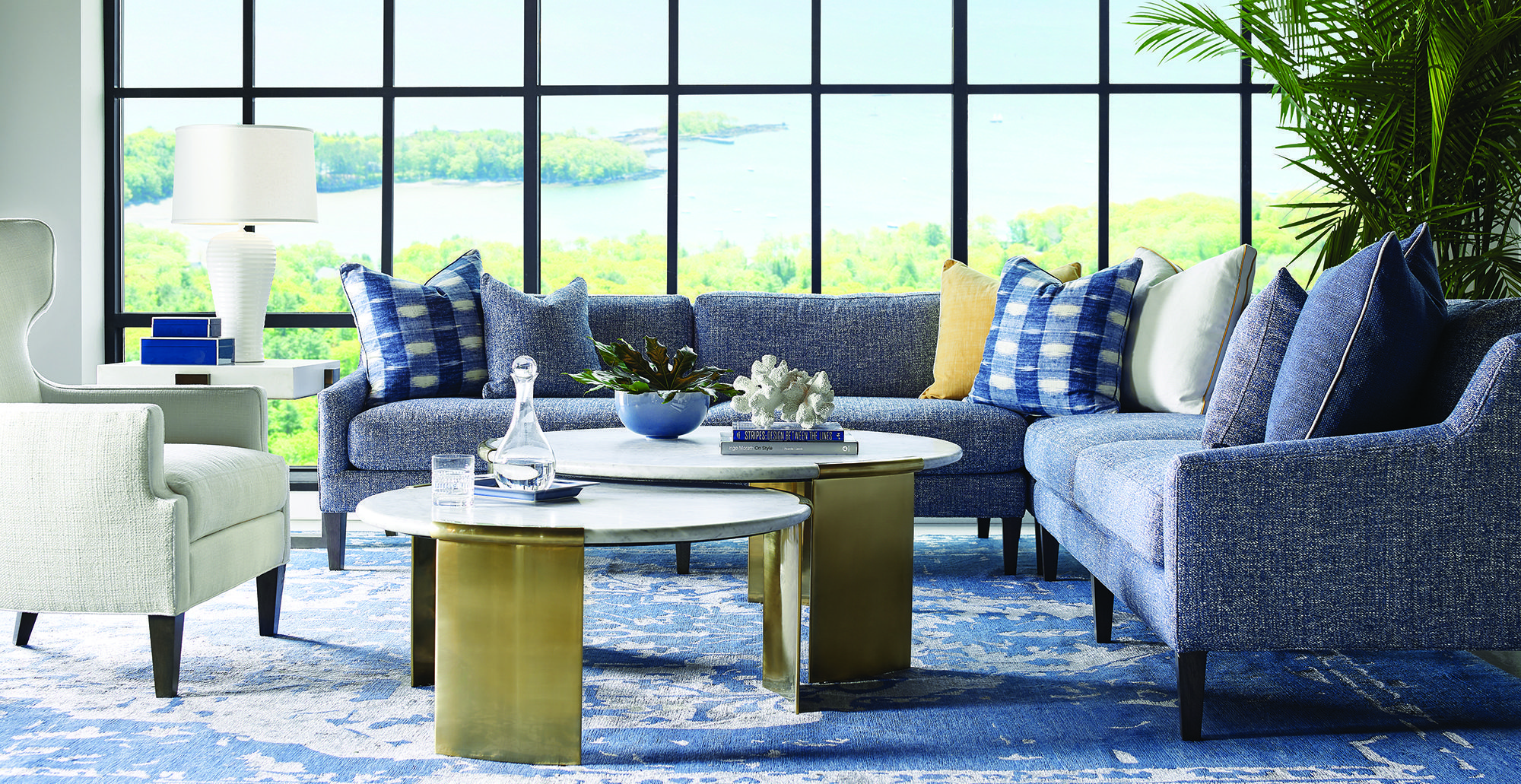 lillian august for hickory white, lillian august furniture
